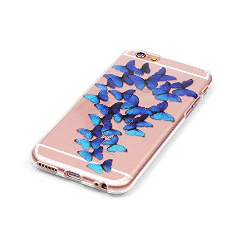 Phone Taschen & Schalen Für iPhone 6 Plus & 6s Plus Macarons Pattern IMD Workmanship Soft TPU Schutzhülle ( SKU : IP6P0887M )