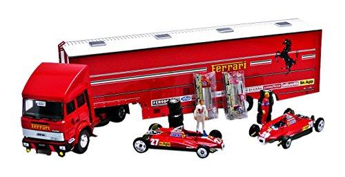 BRUMM BMRTS05 RACE F1 TRANSPORTER SET S.MARINO GP 1982 ED.LIM.PCS 500 1:43 MODEL