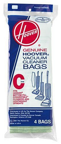 Hoover Type C Vacuum  Bag (4 Bags)