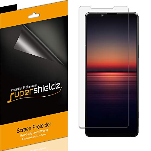 (6 Pack) Supershieldz for Sony (Xperia 1 II) Screen Protector, High Definition Clear Shield (PET)