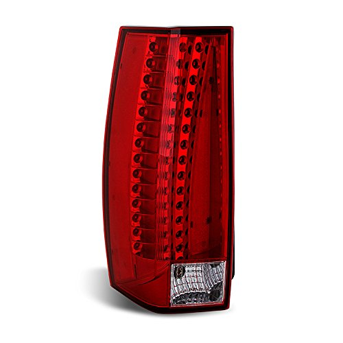 ACANII - For 2007-2014 Cadillac Escalade ESV LED Rear Replacement Tail Light - Driver Side Only