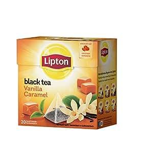 Lipton Pyramids, Vanilla Caramel 20 ct, Imported