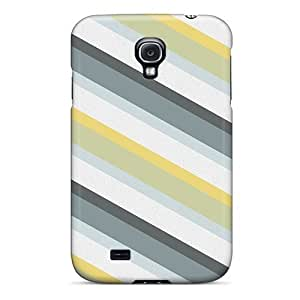 Brand New S4 Defender Case For Galaxy (green Stripes Pattern)