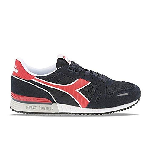 Erwachsene red Sneaker Titan China Diadora Blue Ii C2546 Unisex Deep Onq8g85