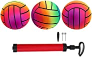 BESPORTBLE Playground Balls, Dodgeball Kickball for Kids Adults Indoor Outdoor (3 Pack)