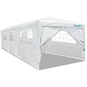 Amazon Com Quictent 10 X 30 Party Tent Gazebo Wedding