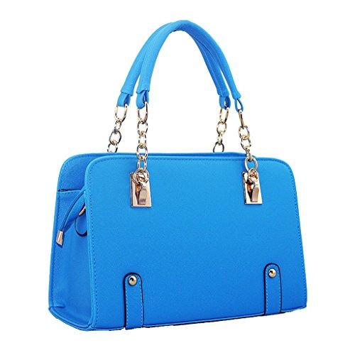 Hee Sac Epaule Messenger Grand Bag Main fourre à tout Ciel Bleu Femme rxZCrqwE