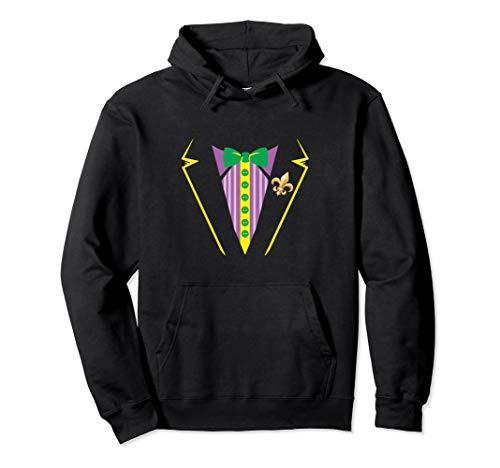 Tux Sweatshirt (Funny Mardi Gras Tux Party Celebration Costume Gift Hoodie)