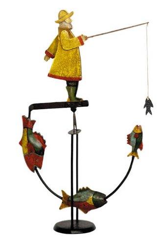 - Authentic Models Balance Toy, Fisherman