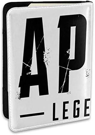 Apex Legends エーペックスレジェンズ パスポートケース メンズ 男女兼用 パスポートカバー パスポート用カバー パスポートバッグ ポーチ 6.5インチ高級PUレザー 三つのカードケース 家族 国内海外旅行用品 多機能