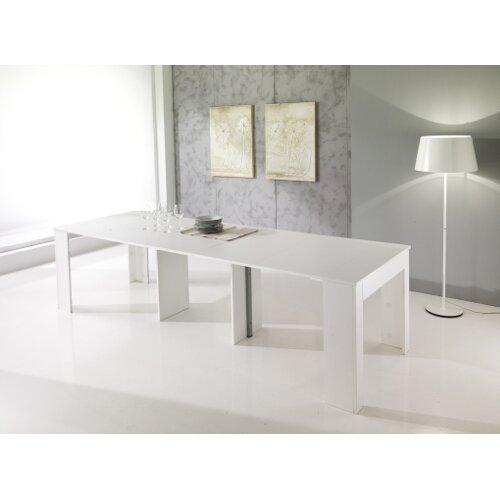 Mesa Consola telescópica Extensible Madera Cocina salón salón Art ...