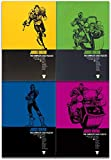 Judge Dredd Complete Case Files Volume 1-5 Collection 5 Books Set (Series 1) By John Wagner
