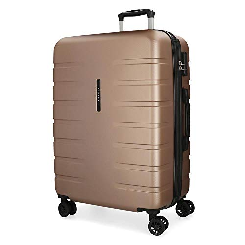 (MOVOM Large Suitcase, Champagne)