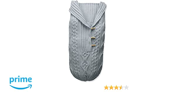 0e108858232 Amazon.com  Toby   Company Baby Nygb Cable Knit Button Down Snuggle Sack