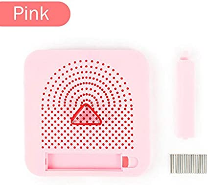 Paper Quilling Tool Rolling Curling Quilling Needle Pen Kits for Art Craft DIY Paper Cardmaking Project Pink Easy Quilling Winder Grid Board Quilling Knitting Board Have Sticks Storage