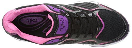 Women's Grey Shoe Plus Devotion Bright Mist Violet Black Cool Walking Ryka Pink Hot dqw1Oad