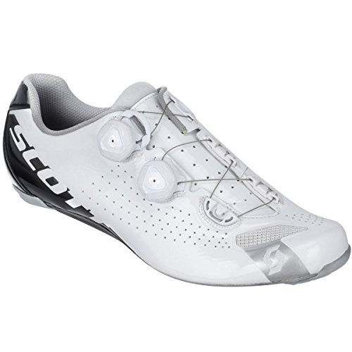 Scott Road RC Shoe - Men's White/Gloss Black, 44.0