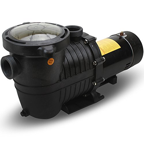 XtremepowerUS Energy Efficient Variable 2 Speed 1HP Inground Swimming Pool Pump (Pool Variable 2 Speed Hp Pump)