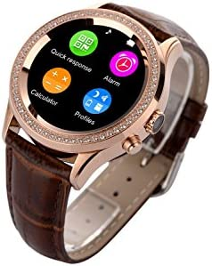D2 Smart Watch - NO.1 Elegante Redondo Inteligente Cristal ...