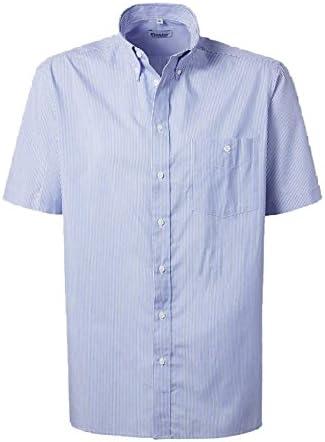 PIONIER 8180 – 47 negocios camisa, azul/blanco, tamaño 47 ...
