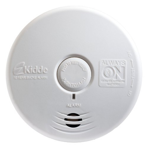 Kidde P3010L Worry-Free Living Area Photoelectric Smoke Alar