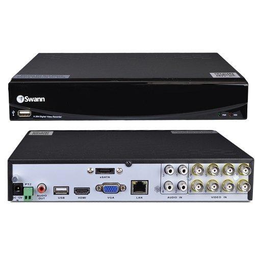 Swann SWDVR-81450N-US 8-Ch Security DVR Remote Access 500gb