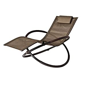 Bali wave rocking chaise lounge garden outdoor for Balinese chaise lounge