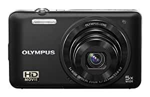 Olympus VG-160 14MP Digital Camera with 5x Optical Zoom (Black) (Old Model)