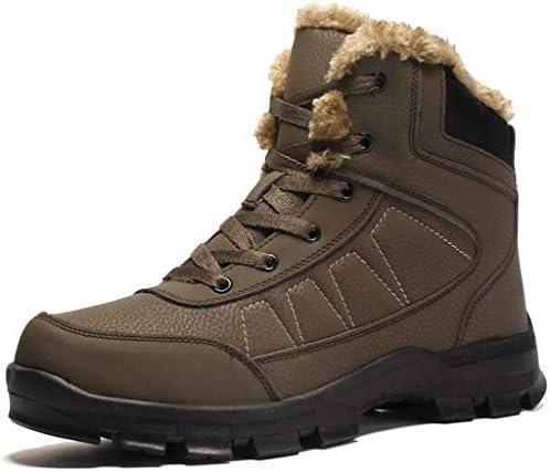 北西男性ハイキングトレイルブーツアウトドアハイキングキャンプに適し革防水足首高層靴をウォーキング (Color : Brown, Size : 7.5UK)