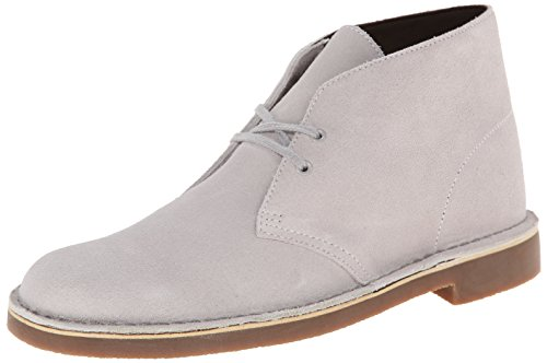 CLARKS Men's Bushacre 2, Light Grey, 10 - Light Natural 2
