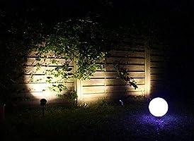 Foco LED Jardín Foco/Jardín Luz Foco/exterior, 230 V/Jardín Foco/pincho Foco/ – Spot/suelo lámpara 10 W 600 lúmenes, 4000 K Aluminio Negro Anodizado IP65 con estaca: Amazon.es: Jardín