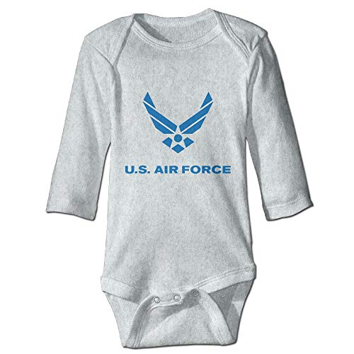 PUREYS-I Printed Air Force Symbol Funny Unisex Baby