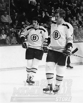 (Bobby Orr Phil Esposito Boston Bruins Action 8x10 11x14 16x20 4081 - Size 8x10 )