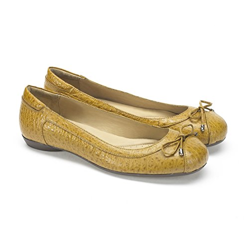 Pelle Black In Mustard Ballet On Shoe Maya Slip Moema Dettagliate Bow UpqBTw6