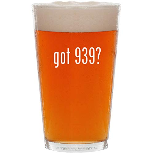 got 939? - 16oz All Purpose Pint Beer Glass