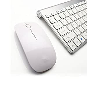 celendi whisper quiet 2 4g ultra slim portable wireless keyboard and mouse combo for. Black Bedroom Furniture Sets. Home Design Ideas