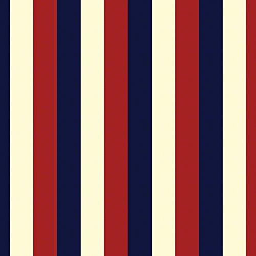 WallCandy Arts Removable Wallpaper, Stripes Americana