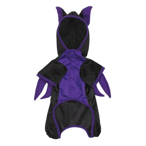 [Casual Canine Polyester Bat Dog Costume, X-Small, 8-Inch] (Bat Wings Dog Costume)
