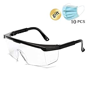 Industrial Anti-Fog Approved Wide-Vision Lab Glasses ANSI Z87.1 Approved Glasses
