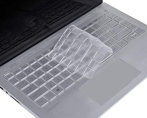 CaseBuy Premium Ultra Thin Keyboard Cover Compatbile HP Pavilion x360 14 Touch-Screen Laptop/HP Pavilion X360 14M-BA 14M-CD 14-BF 14-cm 14-CF Soft-Touch TPU Keyboard Protective Skin