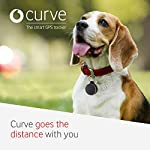 Vodafone Curve, The Smart GPS Tracker, A Lightweight Device for Your Bag, Dog, Car, Laptop, Keys and More – Slate (Paid…