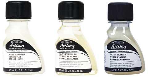 Winsor Newton Canvas (Winsor & Newton Artisan Water Mixable Mediums Gloss Varnish, 75ml)
