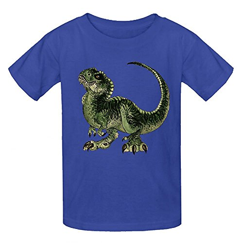Happy New Year Horn (Snowl Baby Dinosaur T Rex Girls Crew Neck Customized Shirts)