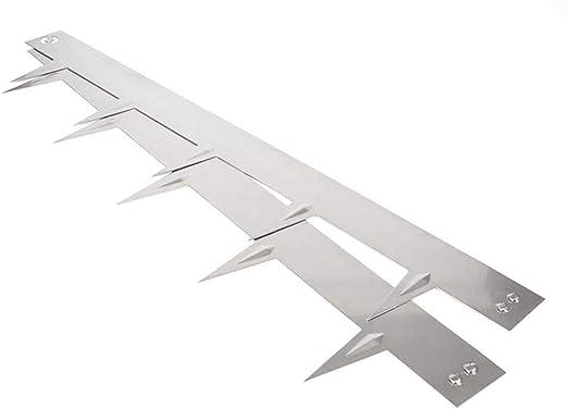 Multi-Edge Bordura metálica Acero Inoxidable - Bordes/separadores para el jardín de Acero Inoxidable, 100 x 17, 5 cm. A Partir de 5 Unidades. (9 Unidades): Amazon.es: Jardín
