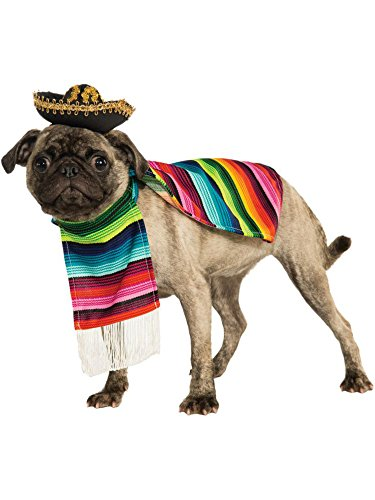 Rubie's Pet Costume, Medium, Mexican Serape