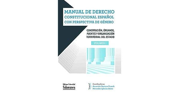 Manual De Derecho Constitucional español con perspectiva De Género Manuales Universitarios, 94: Amazon.es: Vv Aa: Libros
