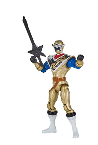Power Rangers Super Ninja Steel Hero Action Figure, Gold -