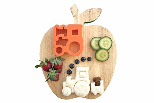 Lunch Punch Pairs Sandwich Cutters - Farm (Cow + Tractor) ()