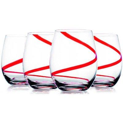 Swirl Stemless Glass (Set of 4)