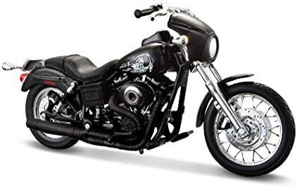 2003 Harley Davidson Dyna Super Glide Sport Maisto 32340 Sons Of Anarchy Jackson Jax Teller 1 12 Die Cast Amazon Co Uk Toys Games